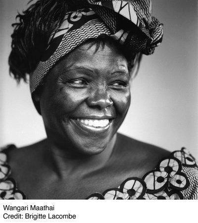 Photo of Wangari Maathai