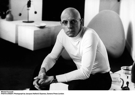Photo of Michel Foucault