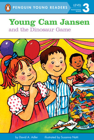 Young Cam Jansen and the Dinosaur Game by David Adler; Illustrated by Susanna Natti