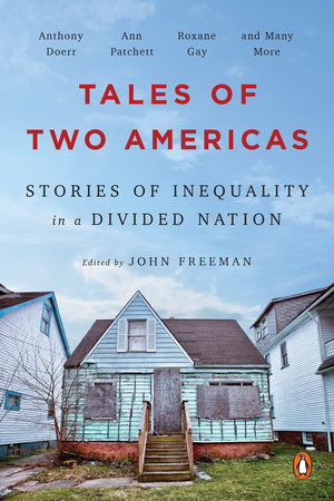 Book Cover- Tales of Two Americas Edited by John freeman