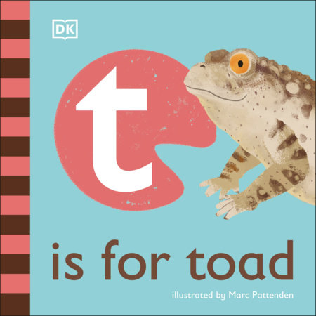 T is for Toad by DK