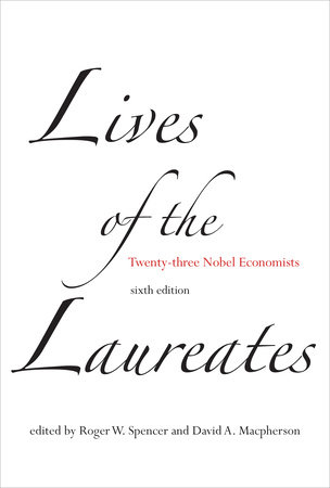 Lives of the Laureates, sixth edition by
