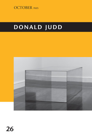 Donald Judd by