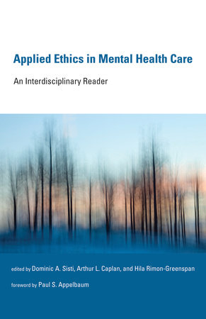 Applied Ethics in Mental Health Care by