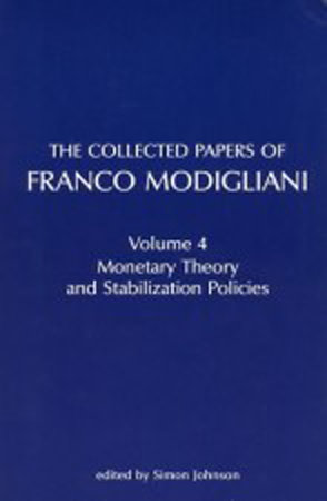 The Collected Papers of Franco Modigliani, Volume 1 by Franco Modigliani