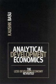 Analytical Development Economics