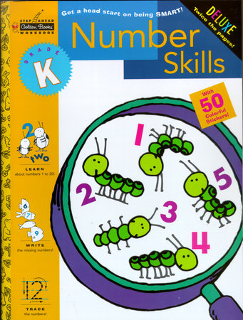 Number Skills (Kindergarten) by Golden Books