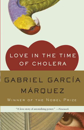 Love in the Time of Cholera Book Cover Picture