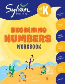 Pre-K Beginning Numbers Workbook