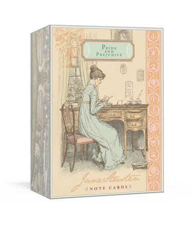 Jane Austen Note Cards - Pride and Prejudice by Potter Gift and Jane Austen