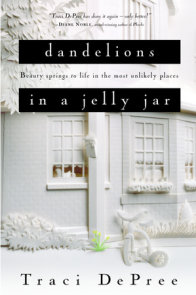 Dandelions in a Jelly Jar