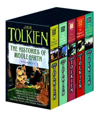 Histories of Middle Earth 5c box set MM by J.R.R. Tolkien