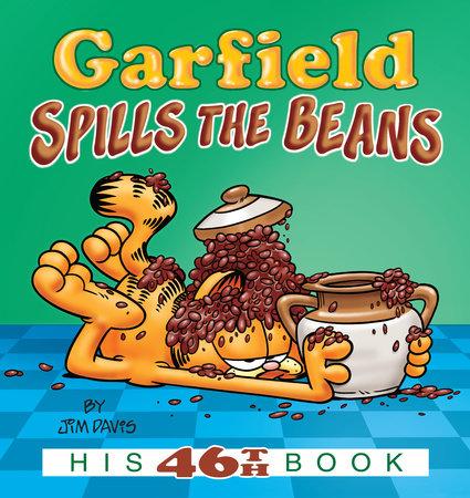 Garfield Spills the Beans by Jim Davis