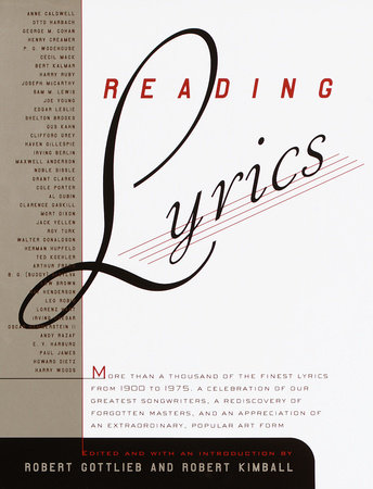 Reading Lyrics by