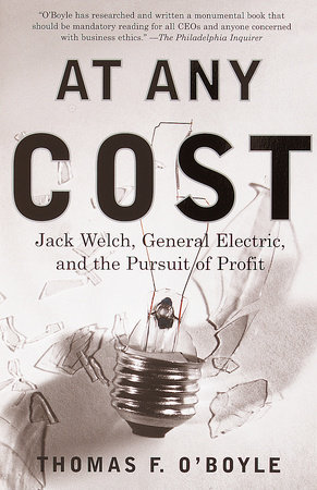 At Any Cost by Thomas F. O'Boyle