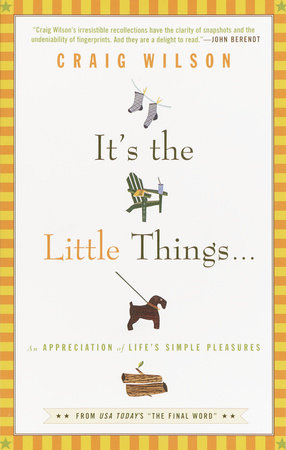 It's the Little Things . . . by Craig Wilson