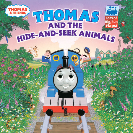 Thomas and the Hide and Seek Animals (Thomas & Friends) by Rev W Awdry; illustrated by Owain Bell