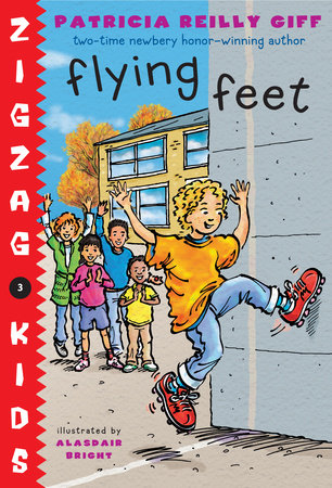 Flying Feet by Patricia Reilly Giff