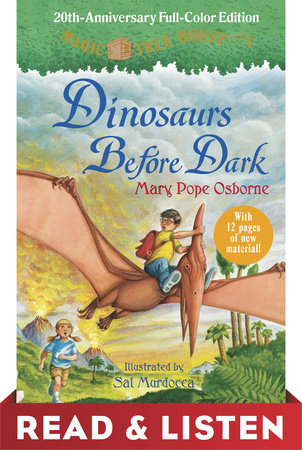 Dinosaurs Before Dark (Full-Color Edition) by Mary Pope Osborne