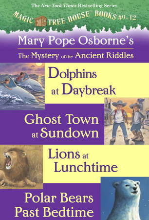Magic Tree House Books 9-12 Ebook Collection by Mary Pope Osborne