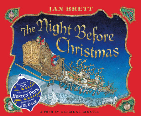 The Night Before Christmas by Jan Brett and Clement Clarke Moore