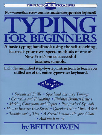 Typing for Beginners by Betty Owen