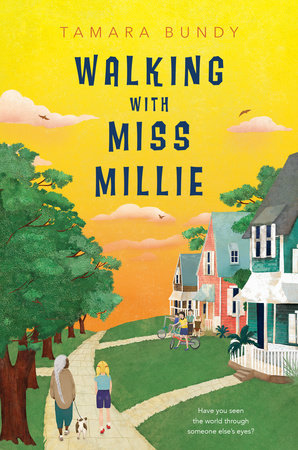 Walking with Miss Millie by Tamara Bundy
