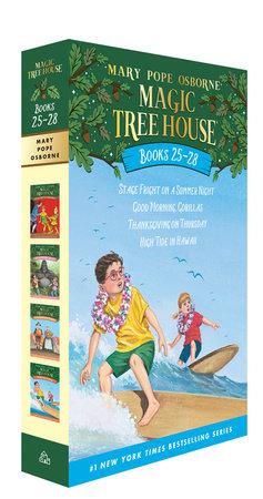 Magic Tree House Books 25-28 Boxed Set by Mary Pope Osborne