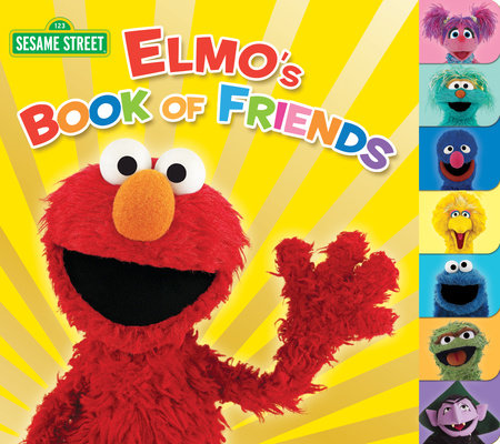 Elmo's Book of Friends (Sesame Street) by Naomi Kleinberg
