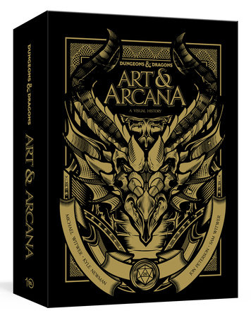 Dungeons & Dragons Art & Arcana [Special Edition, Boxed Book & Ephemera Set] by Michael Witwer, Kyle Newman, Jon Peterson and Sam Witwer