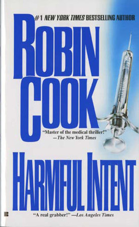 Harmful Intent by Robin Cook