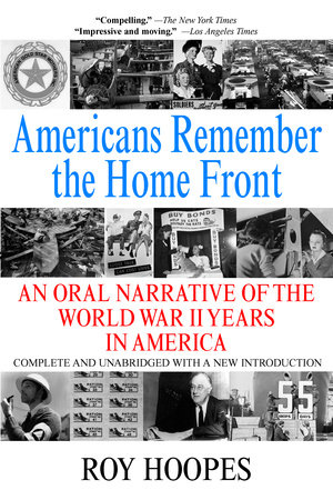 Americans Remember the Homefront by Roy Hoopes