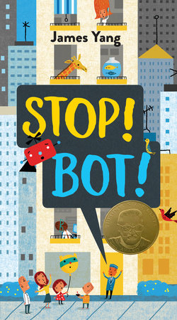 Stop! Bot! Book Cover Picture