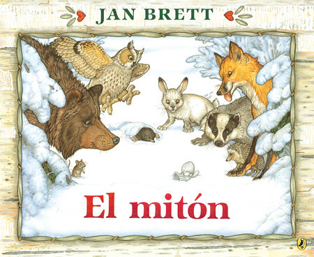 El mitón by Jan Brett