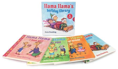 Llama Llama's Holiday Library by Anna Dewdney
