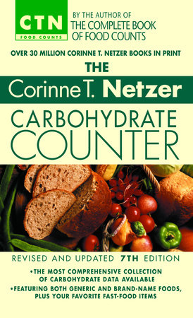 The Corinne T. Netzer Carbohydrate Counter 2002 by Corinne T. Netzer