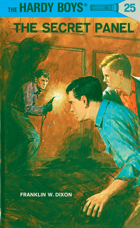 Hardy Boys 25: the Secret Panel by Franklin W. Dixon