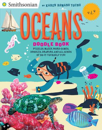 Oceans Doodle Book by Karen Romano Young