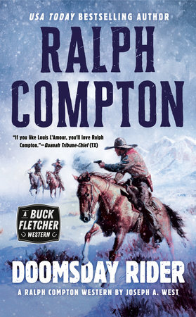 Ralph Compton Doomsday Rider by Joseph A. West