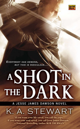 A Shot in the Dark by K. A. Stewart