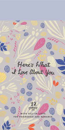 Here's What I Love About You by Potter Gift