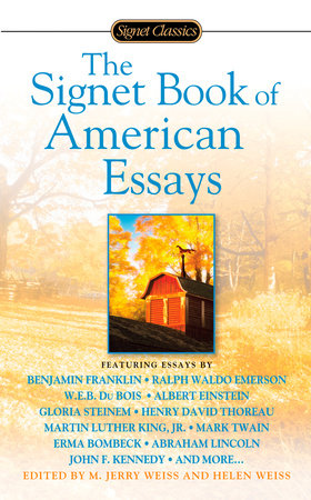 The Signet Book of American Essays by