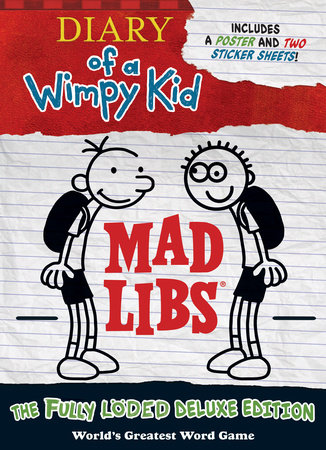 Diary of a Wimpy Kid Mad Libs by Mad Libs