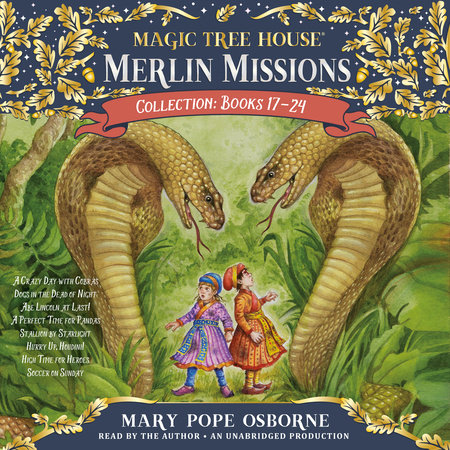 Merlin Missions Collection: Books 17-24 by Mary Pope Osborne