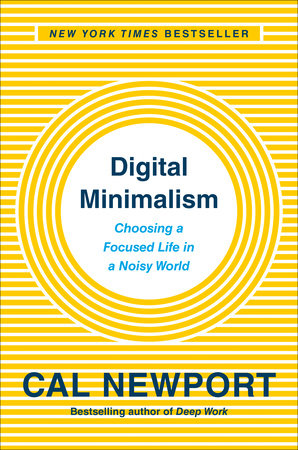 Digital Minimalism Book Cover Picture