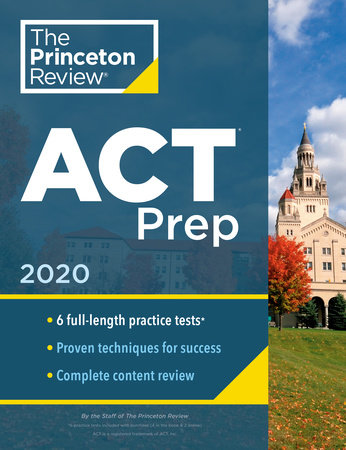 Princeton Review ACT Prep, 2020