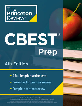 Princeton Review CBEST Prep, 4th Edition by The Princeton Review