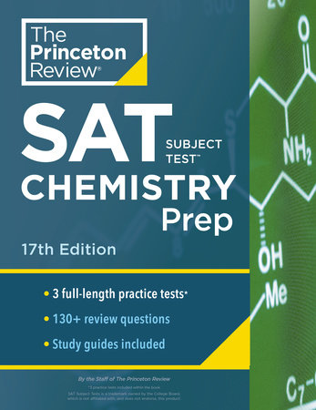 Princeton Review SAT Subject Test Chemistry Prep, 17th Edition by The Princeton Review