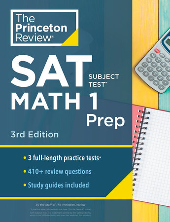 Princeton Review SAT Subject Test Math 1 Prep, 3rd Edition by The Princeton Review