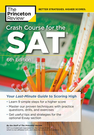 Crash Course for the SAT, 6th Edition by The Princeton Review